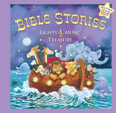 Bible Stories: Lights & Music Treasury Soundbook  -