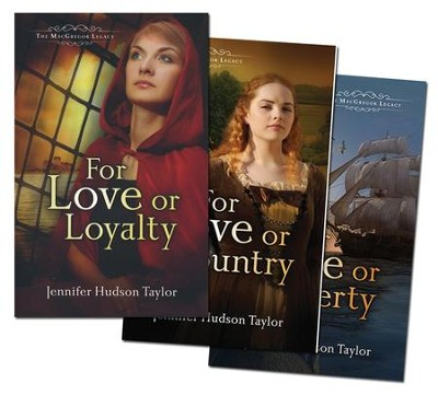 MacGregor Quest Series, Vols. 1-3   -     By: Jennifer Hudson Taylor