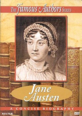 Famous Authors: Jane Austen DVD   -