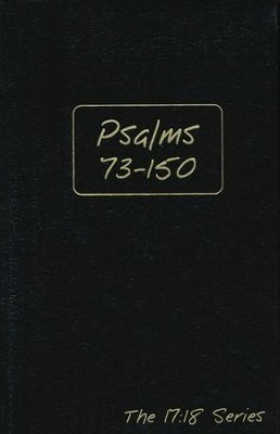 Journible, The 17:18 Series: Psalms 73 - 150   -     By: Rob Wynalda