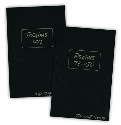 Journible, The 17:18 Series: Psalms, 2 Vols.    -     By: Rob Wynalda
