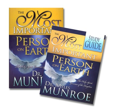 The Most Important Person on Earth, Book & Study Guide/Workbook  -     By: Myles Munroe