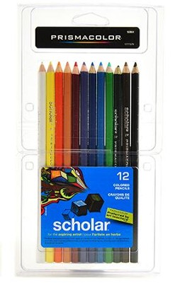 Prismacolor Colored Pencils (Set of 12)   -