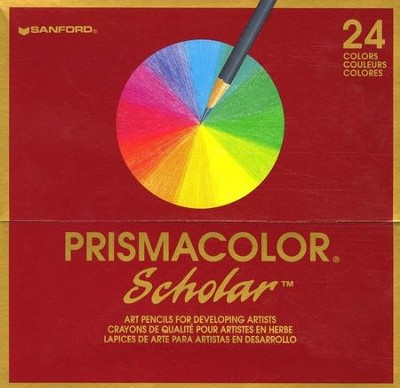 Prismacolor Colored Pencils (Set of 24)   -