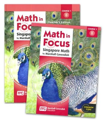 Math in Focus Course 1 for Grade 6 2nd Semester Homeschool Kit  -     By: Marshall Cavendish