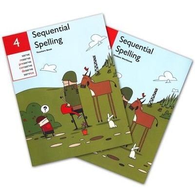 Sequential Spelling Level 4 Teacher's Guide & Student Workbook, Revised Edition  -     By: Don McCabe