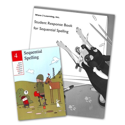 Sequential Spelling 4 DVD-ROM & Student Response Book   -