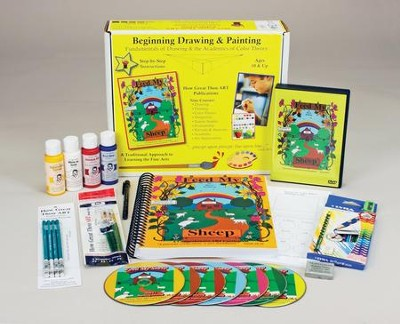 Beginning Drawing & Painting Kit, Ages 10 & Up: Feed My Sheep  -     By: Barry Stebbing