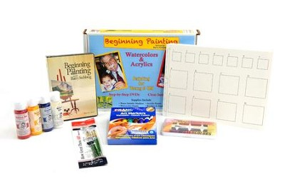 Beginning Painting Boxed Kit   -     By: Barry Stebbing