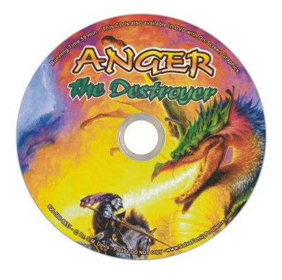 Anger the Destroyer Audio CD  -     By: Dr. S.M. Davis