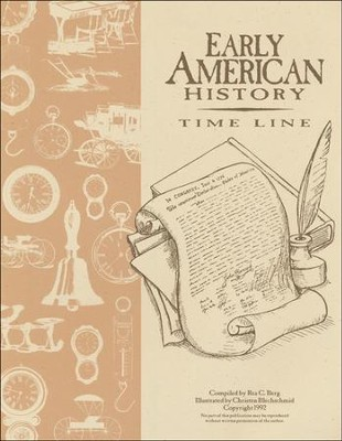 Early American History Time Line   -     By: Rea C Berg