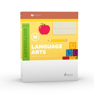 Lifepac Kindergarten Language Arts Curriculum Set   -