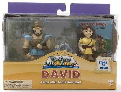 David and Goliath Tales of Glory Play Set  -