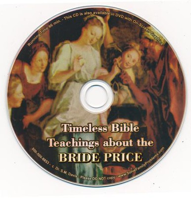 Timeless Bible Teachings About the Brideprice Audio CD  -     By: Dr. S.M. Davis