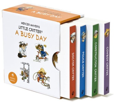 Mercer Mayer's Little Critter: A Busy Day, My Mini Book Collection, Hardcover  -     By: Mercer Mayer