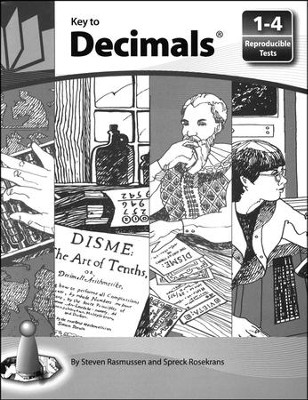 Key to Decimals Reproducible Tests                             -