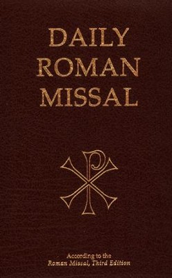 Daily Roman Missal: Third Edition, Burgundy Padded Leather  -