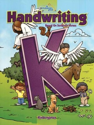 A Reason For Handwriting: Kindergarten--Student Worktext   -     By: Carol Ann Retzer