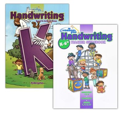 A Reason for Handwriting, Level K, Complete Homeschool Set  -