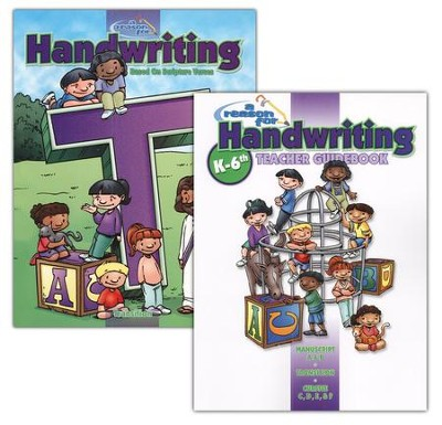 A Reason for Handwriting, Level T (Grades 2-3): Transition, Complete Homeschool Set  -