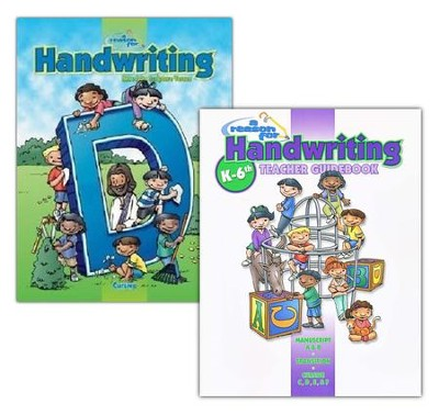 A Reason for Handwriting, Level D: Cursive, Complete Homeschool Set  -