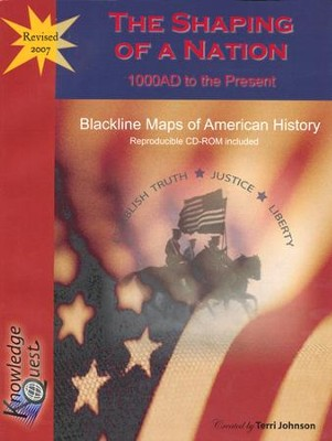 Blackline Maps of American History   -     By: Terri Johnson