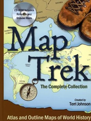 Map Trek--Book and CD-ROM   -     By: Terri Johnson