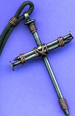 Regular Nail Cross Pendant   -