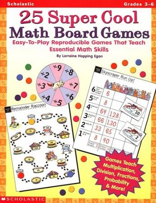25 Super Cool Math Board Games  -     By: Lorraine Hopping Egan