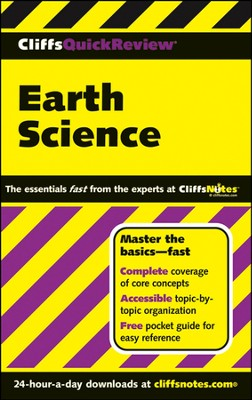 CliffsQuickReview Earth Science  -     By: Scott Ryan