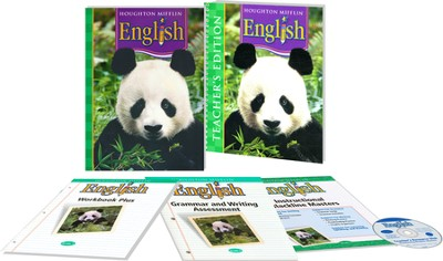 Houghton Mifflin English Grade 1 Homeschool Package   -