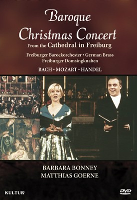 Baroque Christmas Concert From the Cathedral in Freiburg DVD  -