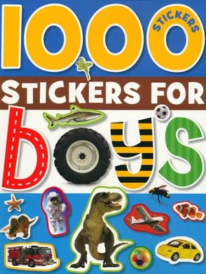 1000 Stickers for Boys  -