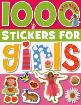 1000 Stickers for Girls  -