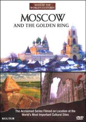 Moscow and the Golden Ring--DVD   -