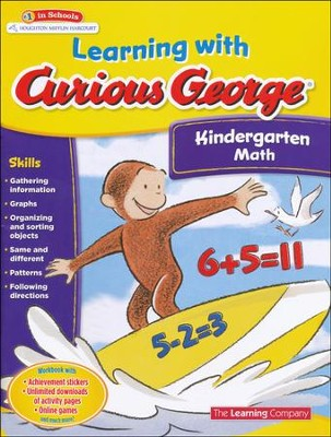 Learning with Curious George Kindergarten Math  -