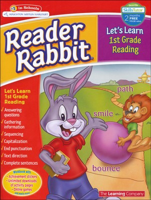 Reader Rabbit Let's Learn First Grade Reading  -