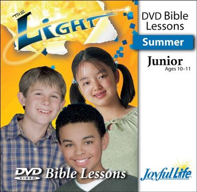 The Light Junior (Grades 5-6) Bible Lesson DVD   -