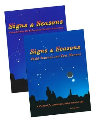 Signs & Seasons Book, Field Journal and Test Manual Pack  -     By: Jay Ryan