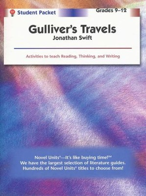 Gulliver's Travels, Novel Units Student Packet, Grades 9-12   -     By: Jonathan Swift