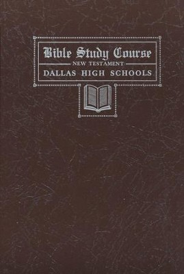 Dallas Bible Study Course - New Testament  -     By: David Barton