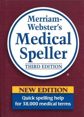 Webster's Medical Speller, Third Edition   -