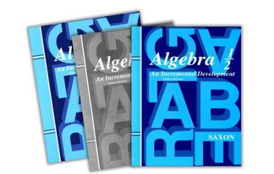 Algebra 1/2 Home School Kit, 3rd Edition   -