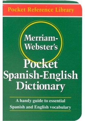 Merriam-Webster's Pocket Spanish-English Dictionary   -