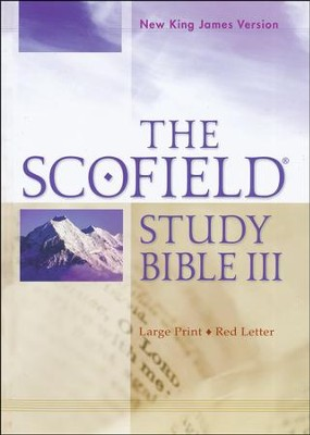 NKJV Scofield Study Bible III, Largeprint, Hardcover   -