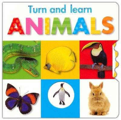 Turn And Learn: Animals  -