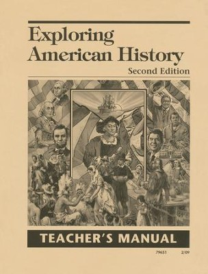 Exploring American History 2nd Edition Teacher's Manual, Grade 5     -