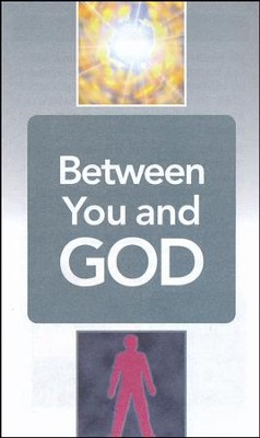 Evangecube Tract (English) Between You and God   -     By: Evangecube