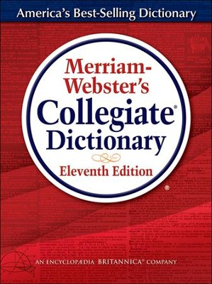 Merriam Webster's Collegiate Dictionary, Laminated, 11th Edition   -