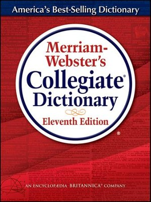 Merriam Webster's Collegiate Dictionary, 11th Edition (Hardcover, Thumb-Indexed)  -
